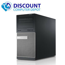 Dell Optiplex 790 Desktop Computer Tower PC Quad Core i7 8GB 1TB Windows 10 Pro
