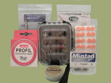 Fly Fishing Gift Set 3, Box of flies and accessories