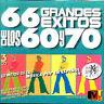 66 GRANDES EXITOS DE.LA MÚSICA POP DE LOS .60-70-3CD(*)