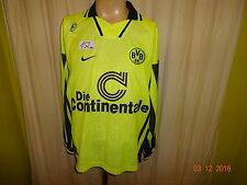 "Borussia Dortmund Original Nike Langarm Trikot 1996/97 ""Die Continentale"" Gr.XXL"