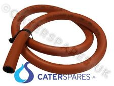 HIGH PRESSURE ORANGE HOSE FOR MOBILE CATERING TRAILER / BBQ GAS PIPE 1 METRE