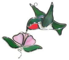 Hummingbird and Flower Suncatcher