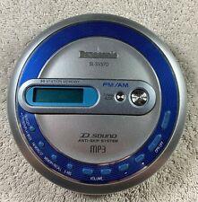 TESTED WORKS GREAT! Panasonic SL-SV570 MP3 Portable CD Player FM/AM Walkman Used