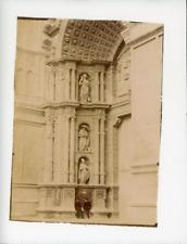 Espagne Palma de Majorque Portail De La Cathédrale Vintage Print Tirage albumi