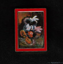 Disney MICKEY DANCING IN THE RAIN Eric Robison Mickey Impressionist UK Pin