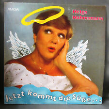 "HELGA HAHNEMANN "" JETZT KOMMT DIE SÜSSE "" Vinyl  12""  Amiga  856029"