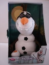 Disney Store Plush Stuffed Toy Olaf the snowman from Disney's Movie Frozen New