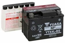 YUASA HONDA YTX4LBS SCOOTER BATTERY AERO/SPREE/ELITE YTX4L-BS MAINTENANCE FREE