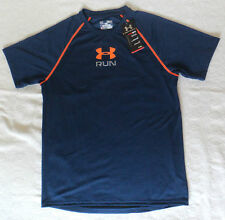 AUTHENTIC UNDER ARMOUR HEAT GEAR LOOSE SHIRT FOR MEN - MEDIUM NAVY