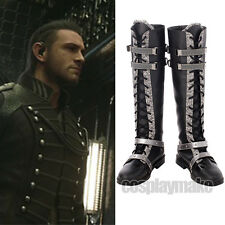 FF15 Kingsglaive Final Fantasy XV Nyx Ulric Cosplay Shoes Custom-Made Boots