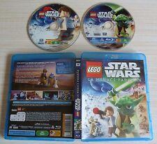 BLU RAY + DVD PAL LEGO STAR WARS LE MENACE PADAWAN