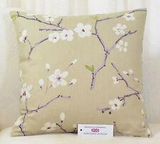 """CUSHION COVER 17""""x17""""  43cm sq. Prestigious Emi Amethyst Floral 100% Cotton"""