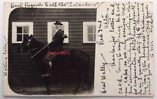 More details for rp red deer alberta canada nr calgary edmunton rider on horse rifle to lewisham