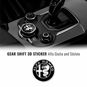 Adesivo Alfa Romeo Logo 51 mm per Interno Giulia Stelvio