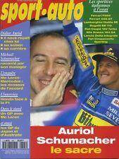 SPORT AUTO n°395 DECEMBRE 1994 GP JAPON RAC RALLY