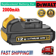 2.0Ah For DEWALT DCB120 DCB127 DCB121 12V 12 VOLT MAX LITHIUM ION BATTERY PACK
