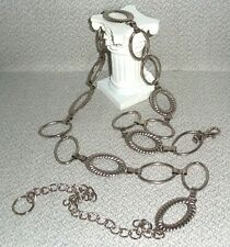 Vintage Chain Link Belt 1970's Retro or possible Repro