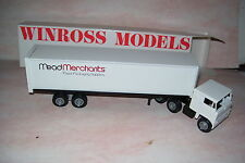 1983 Mead Merchants Paper & Packing Supply Winross Diecast Trailer Truck