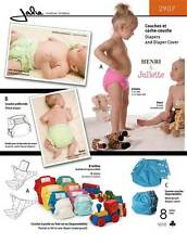Jalie Cloth Diapers & Diaper Cover - Size Preemie to 40 lb Sewing Pattern #2907