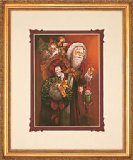 Christmas Past by Gre Gerardi Santa Clause Open Edition Framed Ready To Hang