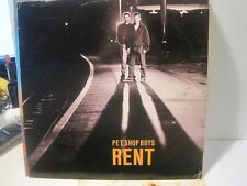 Pet Shop Boys Rent 2 Mixes Free UK Post