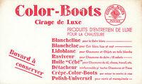 Buvard Vintage  Color-Boots Cirage de Luxe