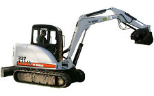BOBCAT 337 - 341 Compact Excavator SERVICE , Operator's  & Parts Manual CD