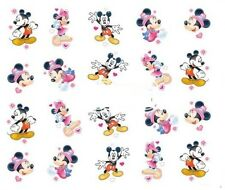 Nail Art Decals Transfers Stickers Mickey & Minnie Mouse (A-378)