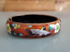 Beautiful made in Beijing China clamper Cloisonne enamel bracelet