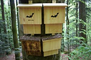 Fledermauskasten Brutkasten Fledermausnistkasten Fledermaushotel Nistkasten