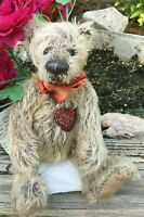 "Rare JENNIFER LAING Artist Teddy Bears Mohair HEARTS DESIRE Vintage HTF 9.5"""