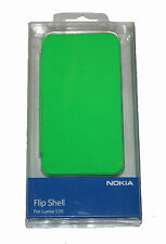 100%GENUINE NOKIA CC-3087 FLIP SHELL CASE for LUMIA 530  - GREEN
