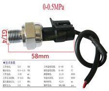 "G1/4"" inch 5V 0-0.5 MPa Pressure Transducer Sensor Oil Fuel Diesel Gas Air accur"