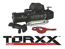 TORXX 8000 LB. Series Wound 5.2 HP Winch w/ 100' Synthetic Rope WOR0080S