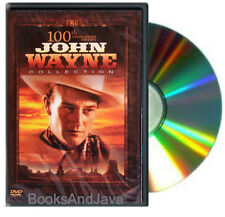 100th Anniversary edition JOHN WAYNE COLLECTION DVD Dawn Rider,Texas Terror +