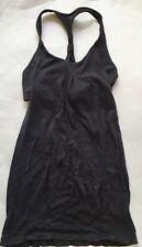 LULULEMON PRACTICE FREELY TANK TOP Solid Black size 4 Gym Yoga Spin