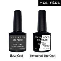 Gel Nail Polish 3D Matte/Tempered Base Top Coat Soak Off UV/LED Manicure 7ml
