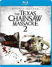 Texas Chainsaw Massacre 2 With Dennis Hopper Blu-ray Region 1 883904268352