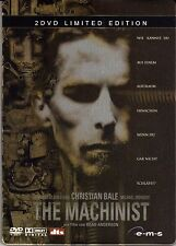 The Machinist , limited 2 Discs Steelbook Edition , 100% uncut , new and sealed