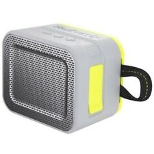 Skullcandy S7PCWJ583 GRAY/LIME Barricade Wireless Bluetooth Portable Speaker NEW