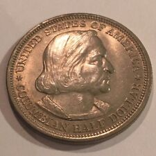 1893 COLUMBIAN EXPOSITION COMMEMORATIVE HALF DOLLAR BU 90% Silver  #3787