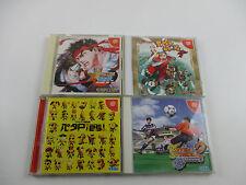 Lot of 4 games Power Stone SNK Capcom 001 Dreamcast Japan Ver Dream Cast