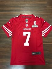 22b5af8c0 COLIN KAEPERNICK NIKE SAN FRANCISCO 49ERS SUPER BOWL PATCH WOMENS JERSEY  SMALL S