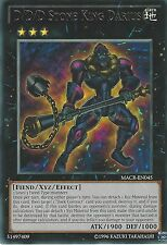 YU-GI-OH CARD: D/D/D STONE KING DARIUS - RARE - MACR-EN045