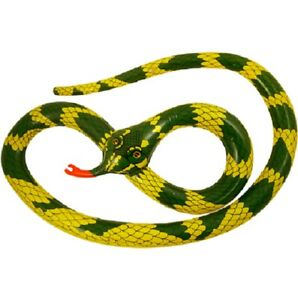 Inflatable Snake Blow Up Horror Animal Beach Toys Loot Party Bag Fillers 230cm