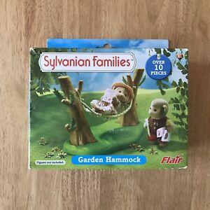 Sylvanian Families Retired Flair 4447 Garden Hammock RARE BNIB