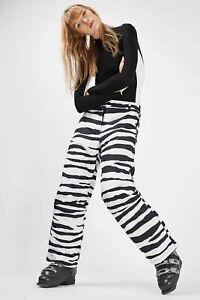 TopShop Animale Stampa Sci Pantaloni UK6 EUR34 US2