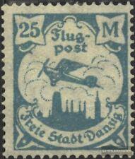 Gdansk 133 examinado usado 1923 Correo aéreo