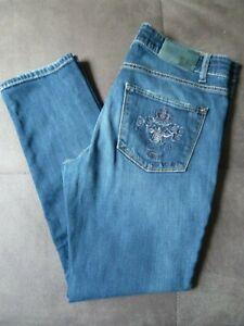 Cambio Damen Jeans 7/8 Länge Gr. 40 top