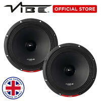 "VIBE SLICK Pro Audio 8"" Midrange Speaker - Sold in pairs"
